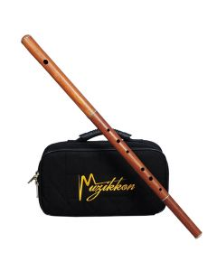 IRISH FLUTE D TUNE ROSEWOOD WITHOUT TUNING SLIDE WITH A NYLON CASE