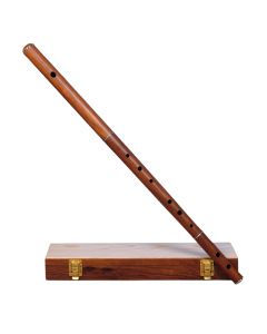 IRISH FLUTE D TUNE ROSEWOOD WITHOUT TUNING SLIDE WITH WOODEN CASE