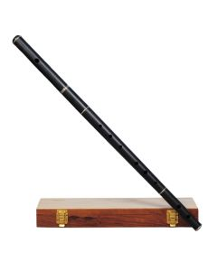 IRISH FLUTE D TUNE EBONY WOOD WITH TUNING SLIDE WITH WOODEN CASE