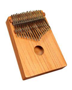 MUSIKHAUSPRINCE THUMB PIANO AFRICAN KALIMBA, MABIRA RED CEDAR WOOD