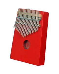 HEARTLAND THUMB PIANO, AFRICAN KALIMBA, MBIRA RED