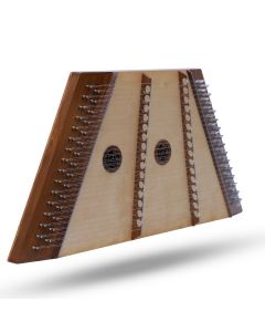 MUSIKHAUSPRINCE 16/15 HAMMERED DULCIMER ROSEWOOD WITH HAMMERS