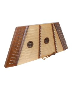 MUSIKHAUSPRINCE 12/11 HAMMERED DULCIMER ROSEWOOD WITH HAMMERS