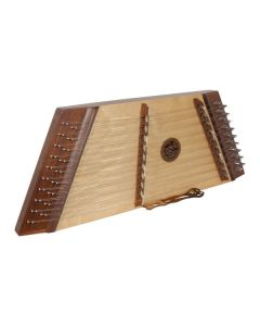 MUSIKHAUSPRINCE DOUBLE STRUNG 10/9 HAMMERED DULCIMER ROSEWOOD WITH HAMMERS